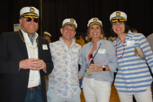Yacht rock attendees photo